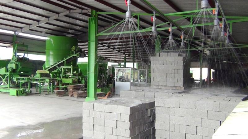 Dây chuyền sản xuất gạch BLock tự động B1209