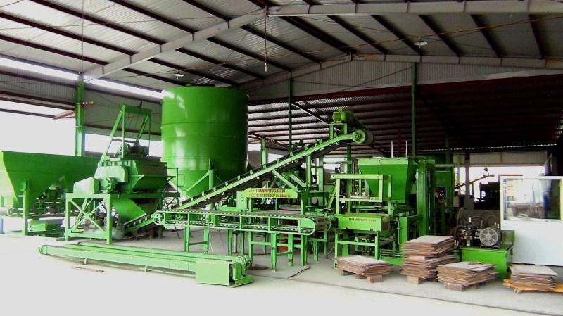Dây chuyền sản xuất gạch BLock tự động B5111