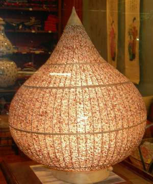 Bead Lamp Shade