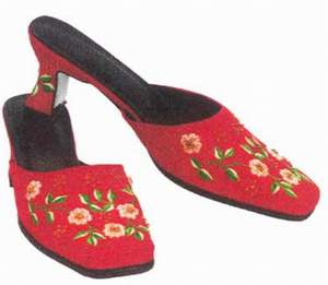 Embroidery Slipper