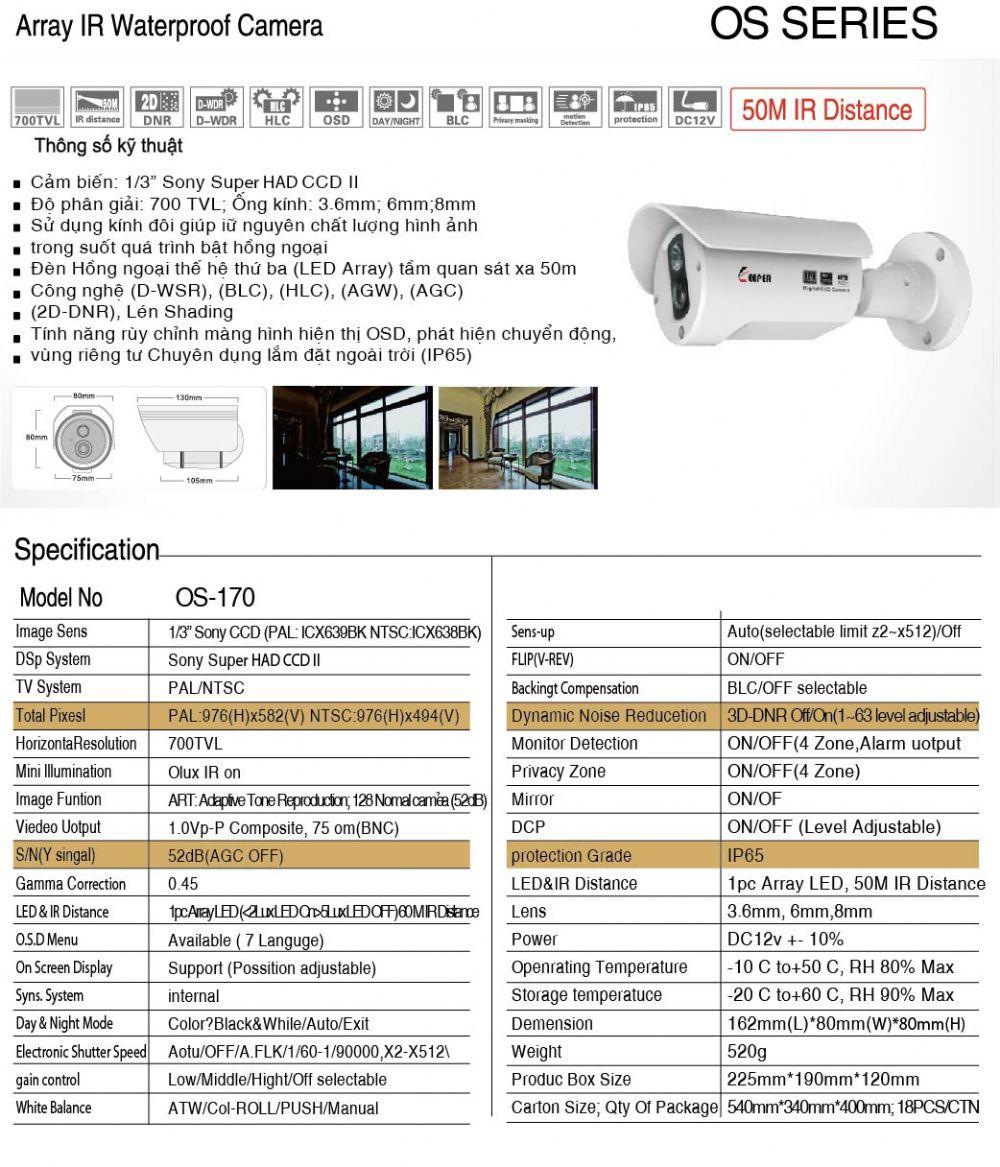 Camera OS - 170