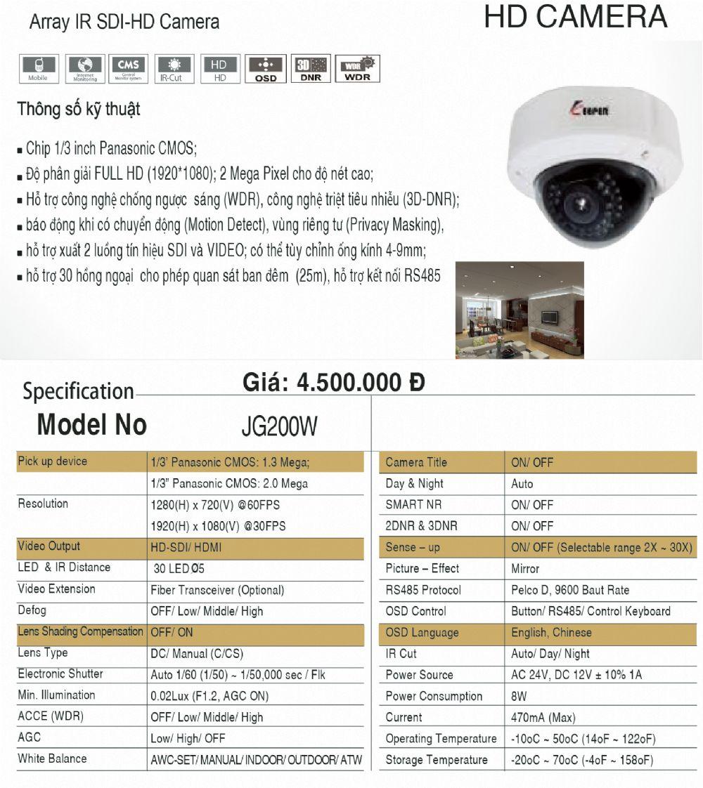 Camera JG200W