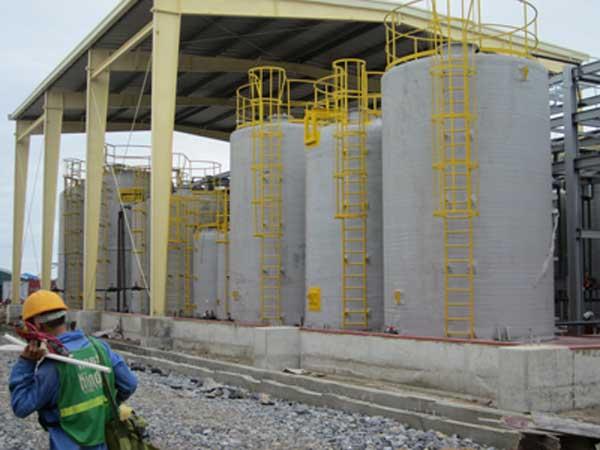 Bể chứa hóa chất Composite