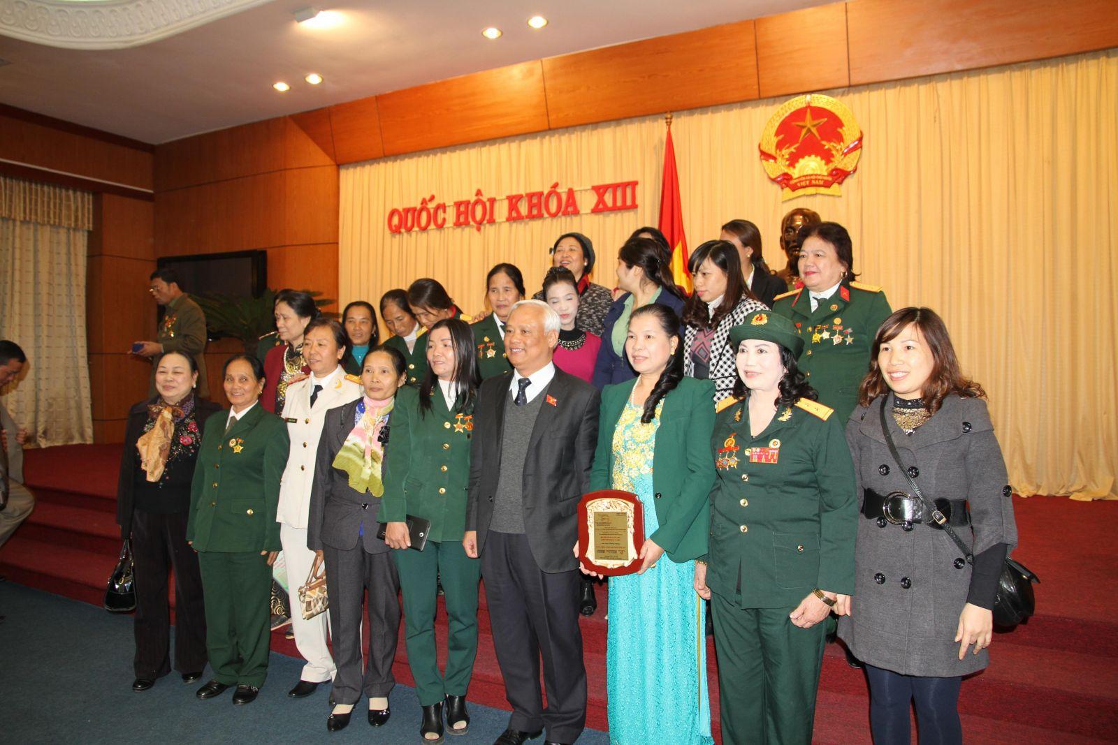 Gặp Phó chủ tịch Quốc hội Uông Chu Lưu