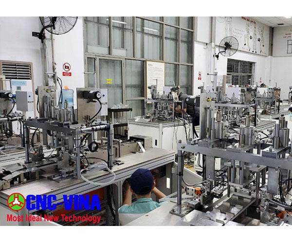 Dây chuyền sản xuất khẩu trang Việt Nam CNCVINA