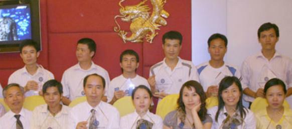 Đội ngũ nhân viên tiêu biểu