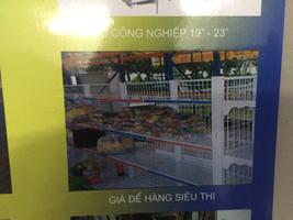 Giá để đồ siêu thị