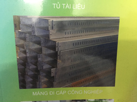 Thang máng cáp công nghiệp