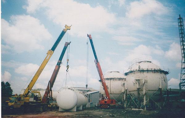 Bồn LPG công nghiệp