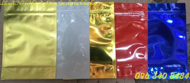 Túi zipper các màu