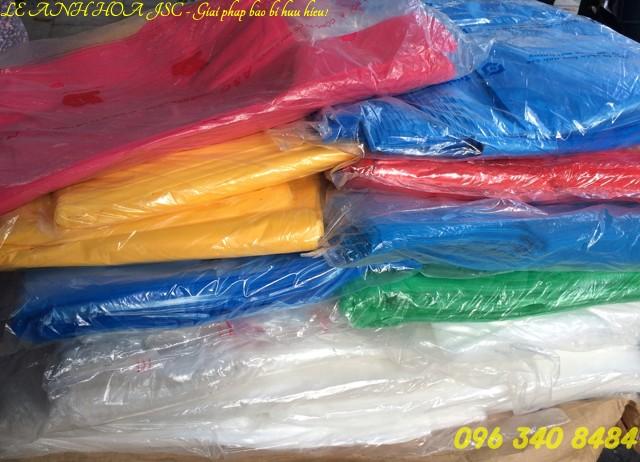 Túi nilon nhiều màu