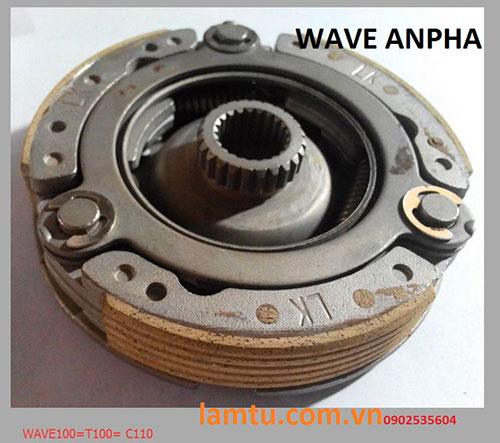 Côn trước Wave Anpha