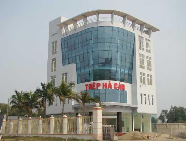 Trụ sở công ty Thép Hà Căn- Thái Nguyên