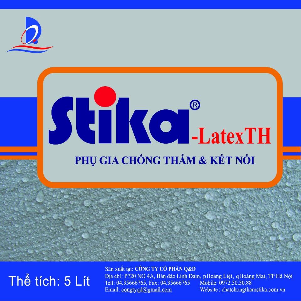 Phụ gia chống thấm & kết nối Stika - Latex TH
