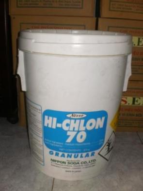 Calcium hypochlorite 70% Nhật Bản