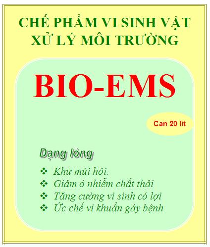 Chế phẩm vi sinh xử lý môi trường BIO-EMS