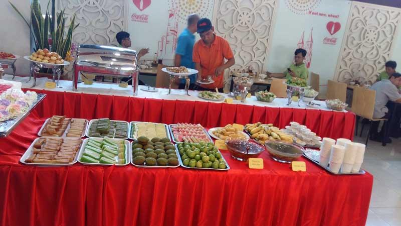 Tổ chức ăn uống sự kiện