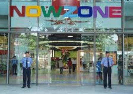 Bảo vệ trung tâm thương mại
