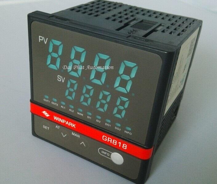 Đồng hồ nhiệt dòng GR818