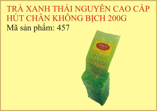 Trà xanh Thái Nguyên cao cấp
