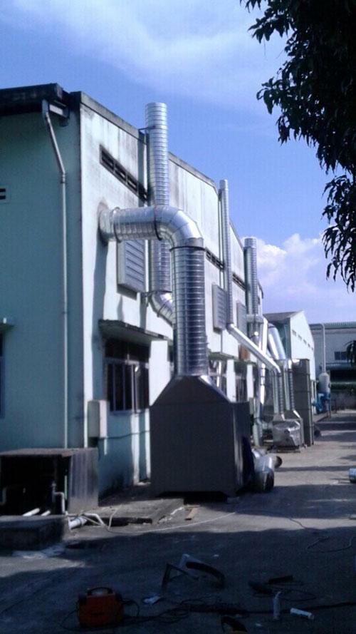 Hệ thống hút và xử lý khí thải