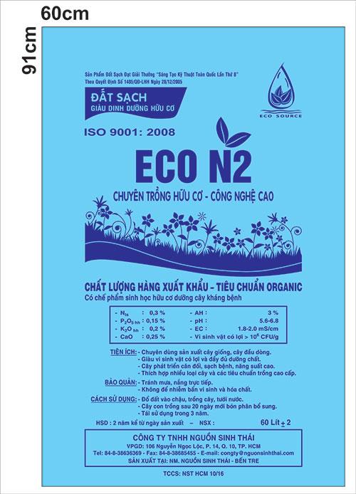 Đất sạch Eco N2