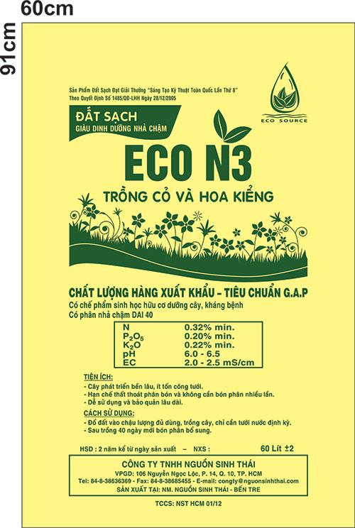 Đất sạch Eco N3