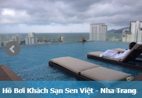 Hồ bơi khách sạn Sen Việt Nha Trang