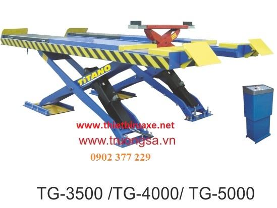 Cầu nâng kiểu xếp TG-3500