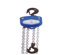 Manual chain hoist tralift