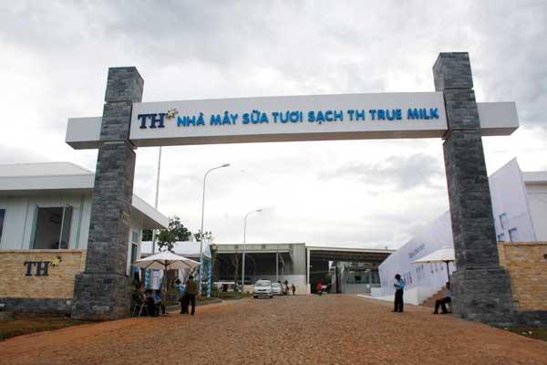 Nhà máy sữa TH - True Milk