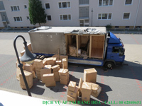 Bảo vệ áp tải vận hàng hóa