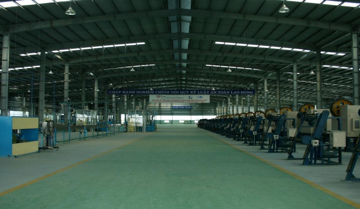 Nhà máy sx cáp điện tàu thủy Đà Nẵng