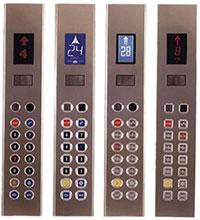 Nút điều khiển thang máy