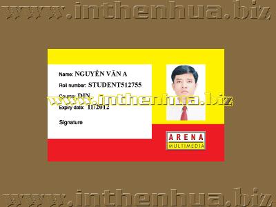 Mẫu thẻ sinh viên