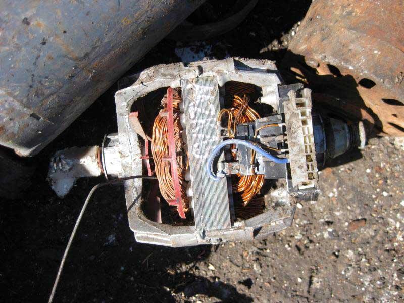 Đồng motor Phế liệu