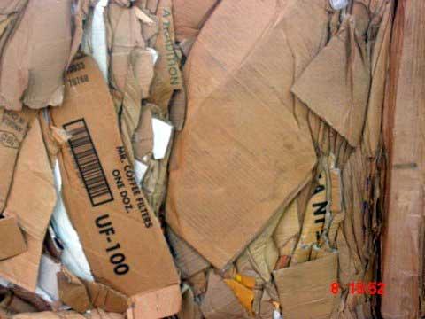 Giấy hộp carton phế liệu