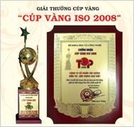 Cúp vàng ISO 2008