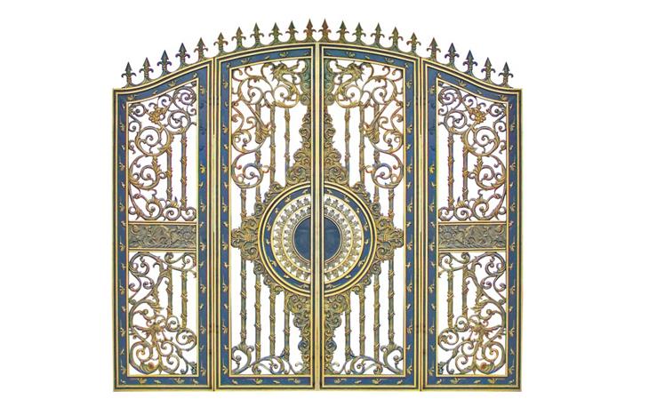 Cửa cổng hợp kim nhôm