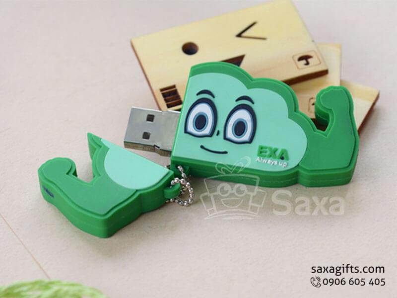 USB cao su