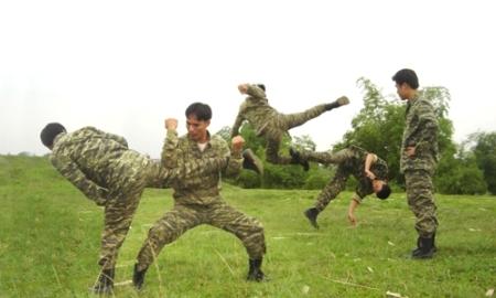 Tập luyện rèn luyện thân thể