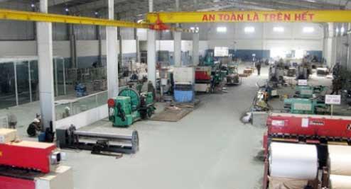 Nhà máy sản xuất đồ inox