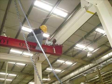 Sửa chữa cầu trục, cổng trục