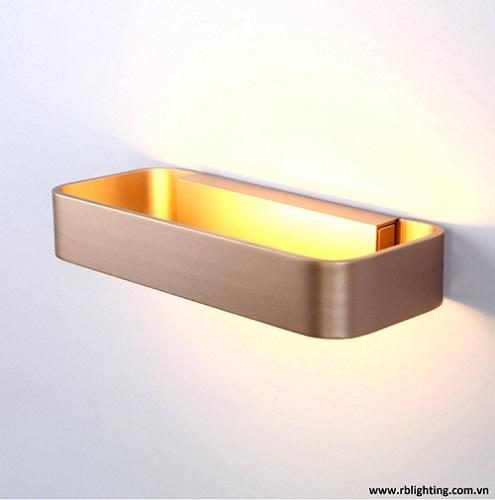 Đèn vách vàng đồng