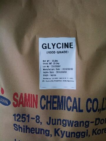 GLYCINE-SAMIN