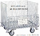 Lồng thép chứa hàng