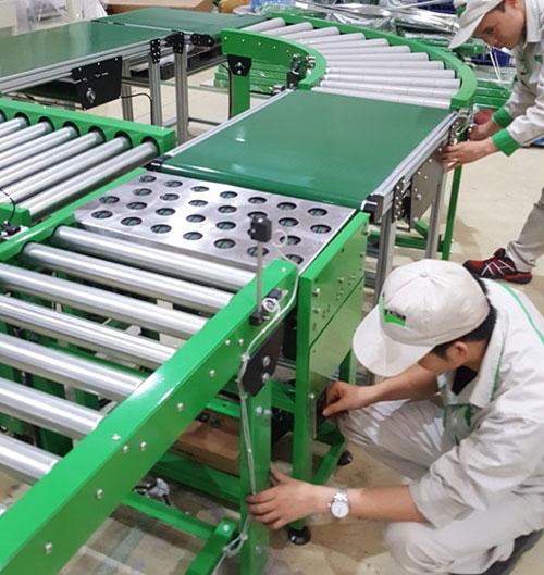Sản xuất, lắp ráp, sửa chữa băng tải