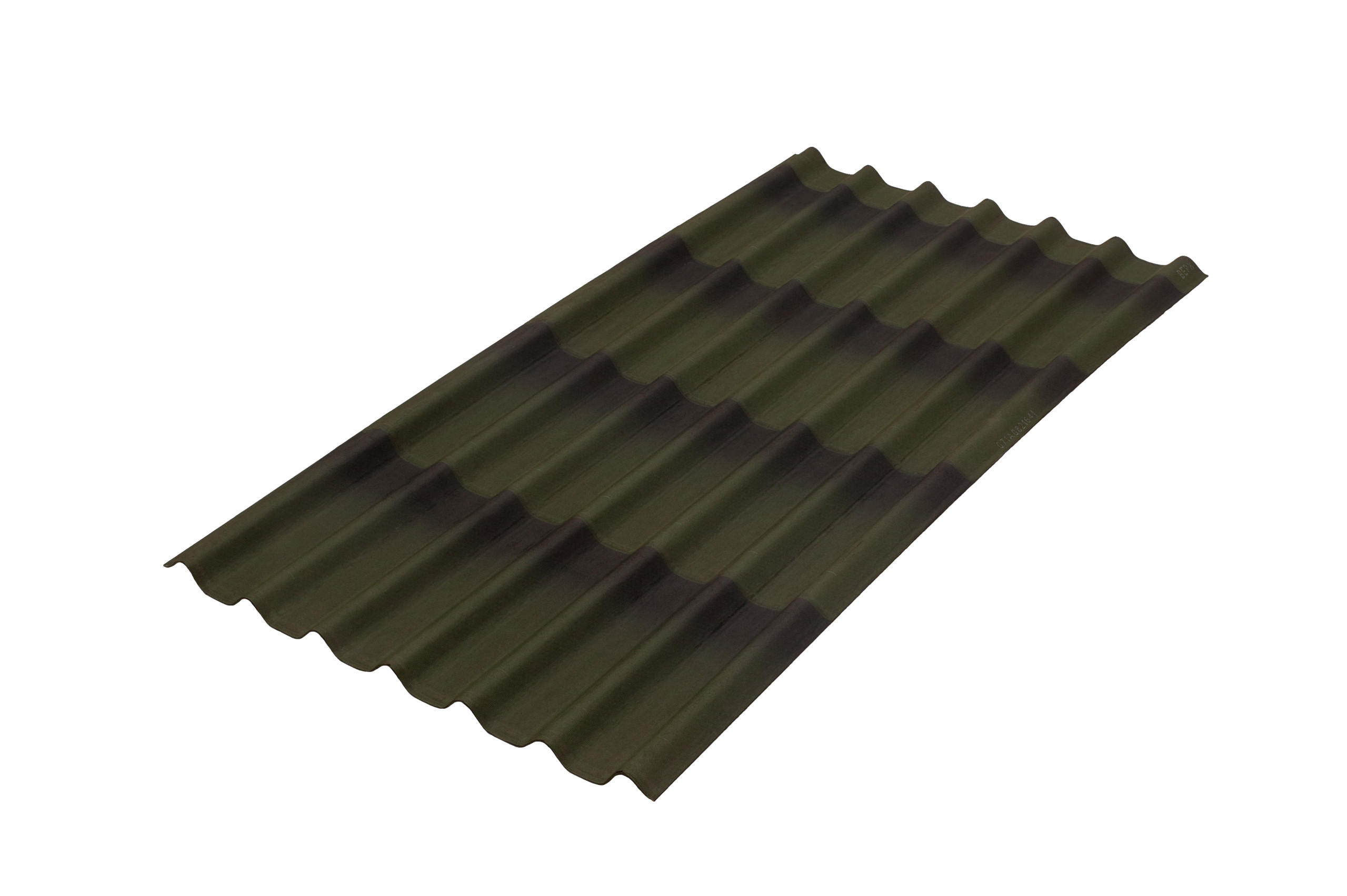 Onduline tile 3D
