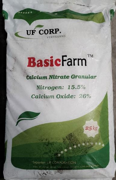 Phân bón Canxi Nitrate