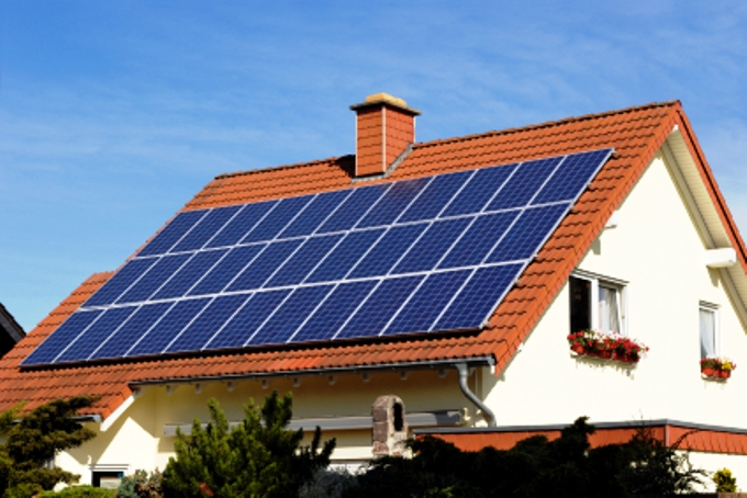 Công trình pin năng lượng mặt trời